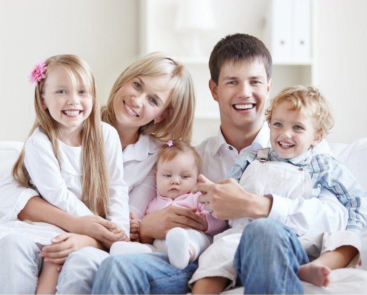нас можно картинки многодетной семьи с детьми любым видом